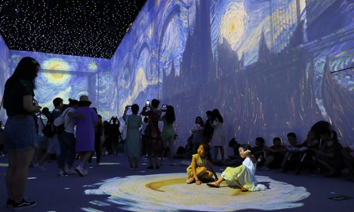 Van Gogh exhibition 'Immersive Experience, Fantasy of The Inner World' opens at National Museum of China