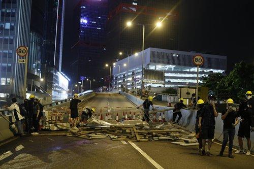 Lam warns of long-term impact on HK