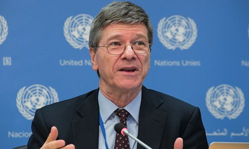 Jeffrey Sachs  Photo: IC