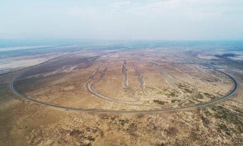 Groundbreaking vehicle testing field completed in Xinjiang