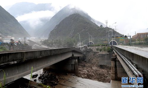 9 dead, 35 missing as rain batters southwest China