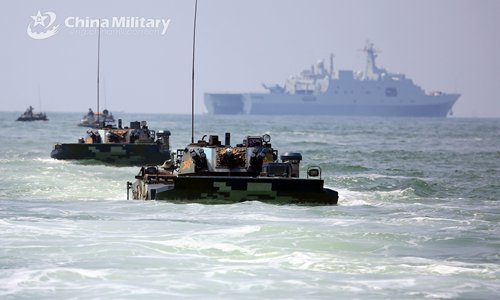 PLA conducts joint land assault exercises near Taiwan