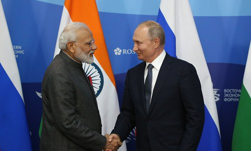 India to provide $1 billion credit line to Russian Far East