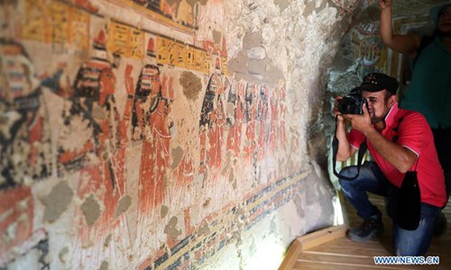 Egypt opens 2 ancient tombs for visitors in Luxor after restoration