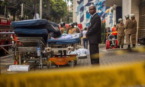Brazilian hospital fire kills at least 11 elders