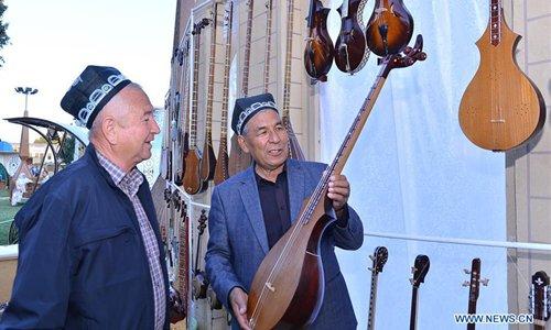 International Handicrafters Festival held in Kokand, Uzbekistan