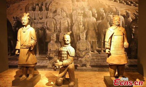 China's Terracotta Warriors exhibited in Thailand