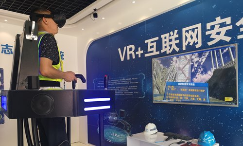 Chinese firm uses robots for tunnel construction