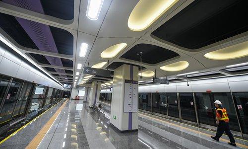 S. China city subway provides facial recognition service
