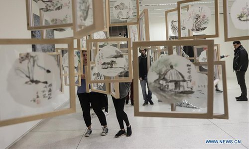 People visit 14th edition of Curitiba Int'l Biennial of Contemporary Art