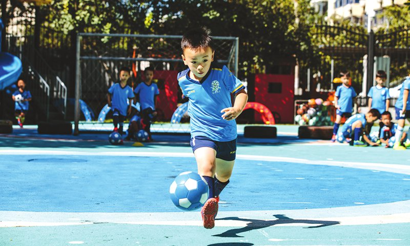 National campaign gives millions of Chinese preschoolers a taste of soccer
