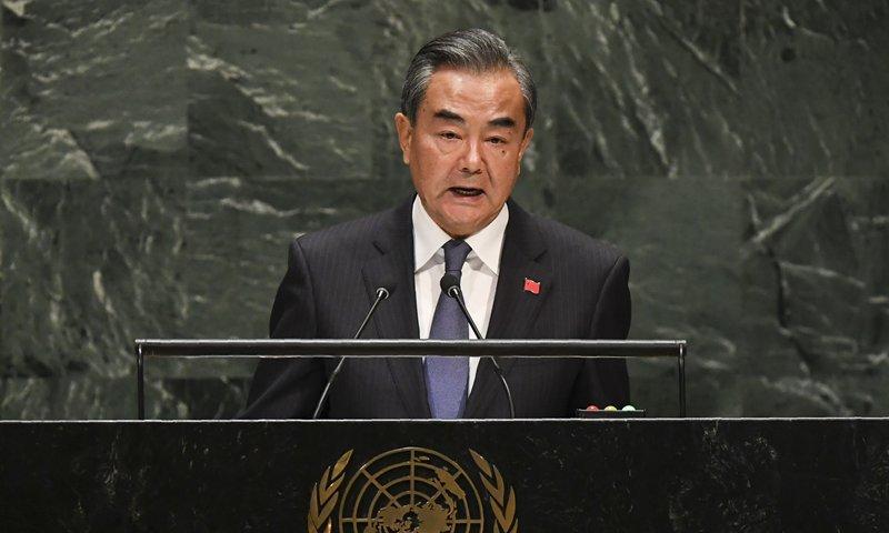 China 'never seeks hegemony'