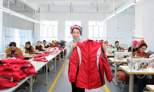 Xinjiang creates over 466,000 urban jobs in first three quarters