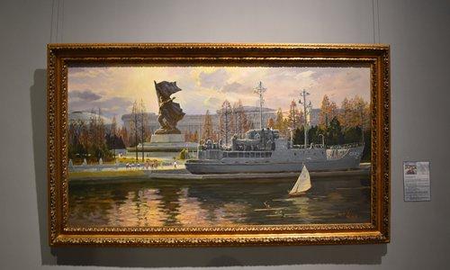 N.Korean artworks shine at Beijing's Mansudae Art Museum