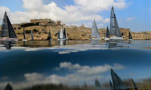 2019 Rolex Middle Sea Race held in Valletta, Malta