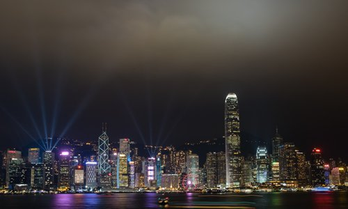 Hong Kong night view Photo: Courtesy of Hong Kong Tourism Board