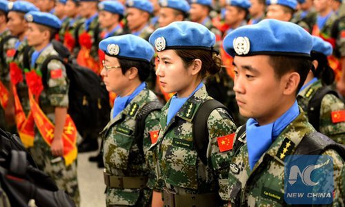 Chinese peacekeepers complete special transport mission in Darfur, Sudan