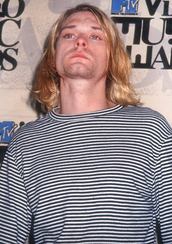 Kurt Cobain's cigarette burned sweater sells for $334,000