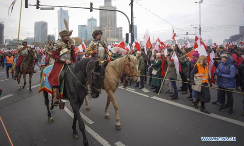 101st anniversary of Poland's independence marked in Warsaw