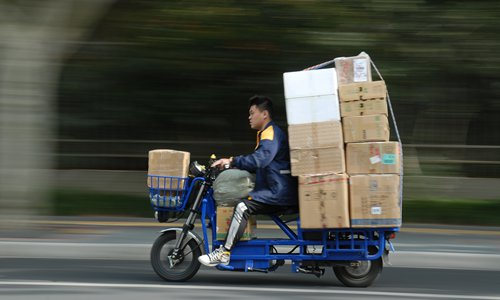 Efforts on for smooth delivery of double-eleven parcels