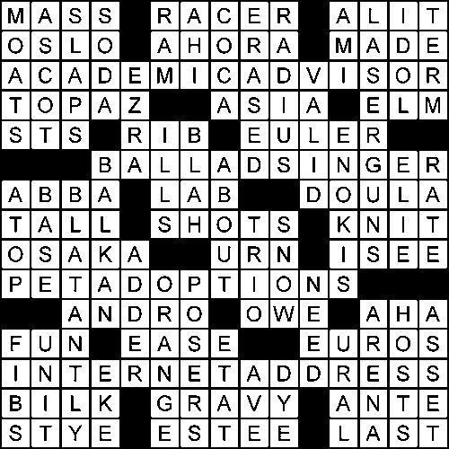 Crossword - Global Times