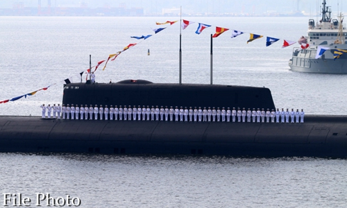 Russian Pacific Fleet to get its first new stealth sub Monday