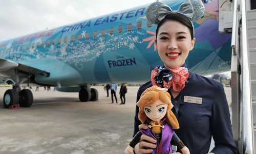 """Disney's """"Frozen 2"""" premieres on Chinese mainland"""