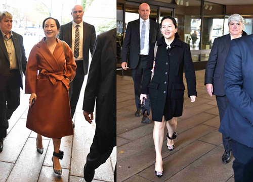 Huawei CFO Meng Wanzhou in the limelight in China for her fashion taste