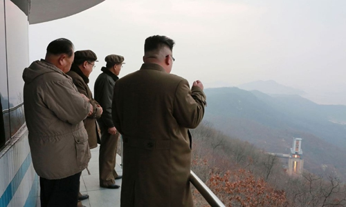 DPRK conducts crucial test at satellite launch site -- KCNA