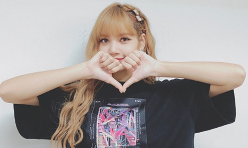 Blackpink's member Lisa Photo: iQIYI's reality show Youth With You official Sina Weibo account