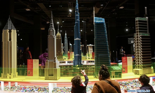 Lego-themed Towers of Tomorrow exhibition held in Vancouver