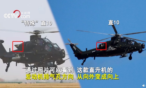 PLA unveils latest Z-10 attack helicopter upgrade