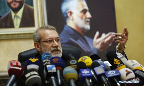 Iranian parliament speaker says to support Lebanon in all fields: report