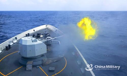 PLA expels US warship illegally trespassing into S.China Sea