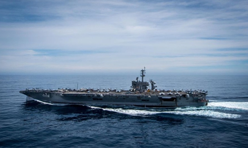 US Navy's deployment of 3 aircraft carriers to Pacific a mere show of vanity