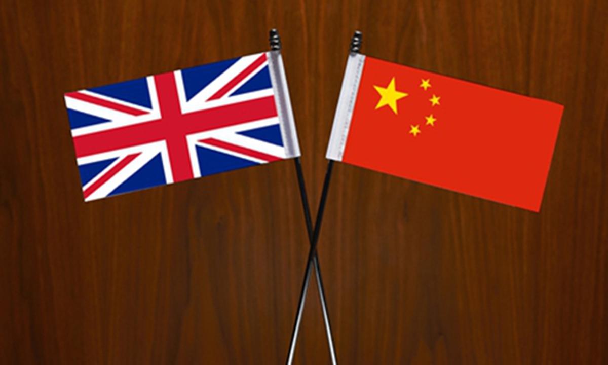 China UK flag Photo: GT
