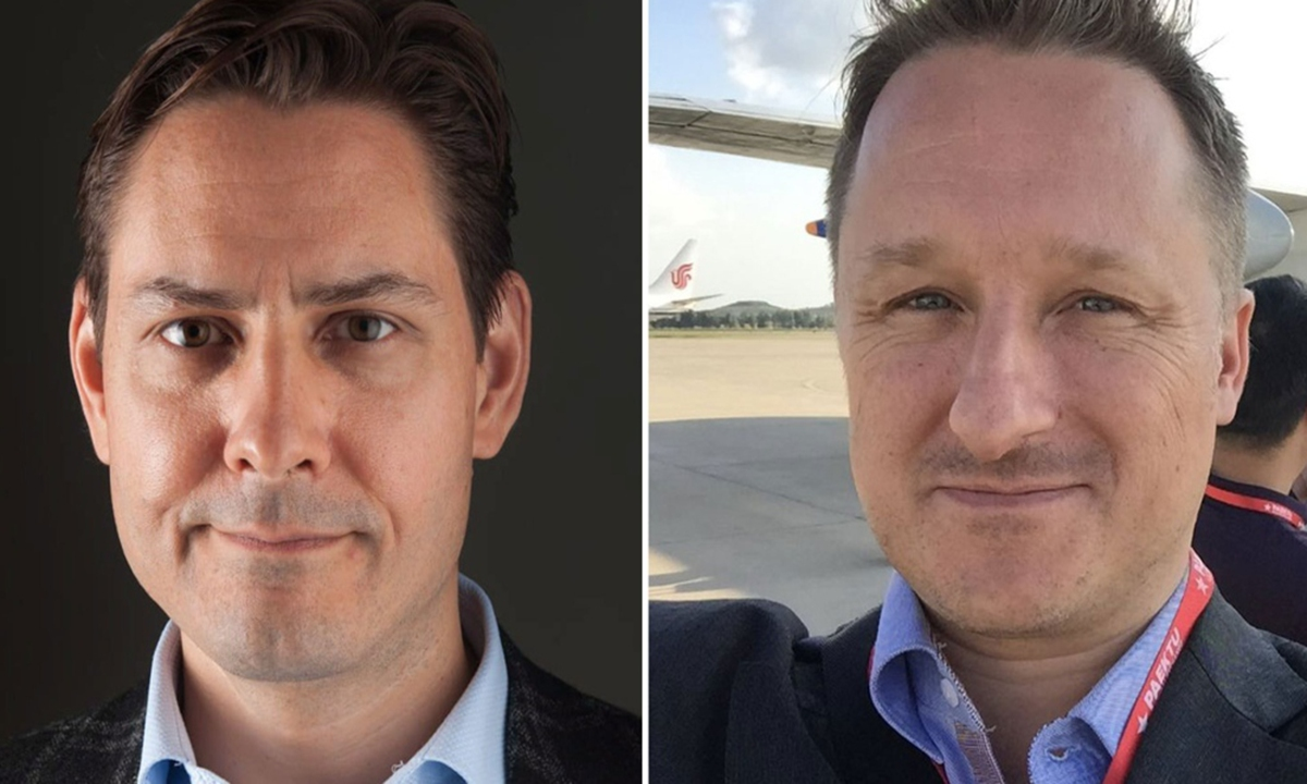 Photo: Former Canadian diplomat Michael Kovrig and Michael Spavor (right)