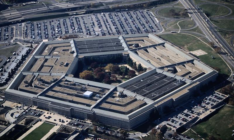 Pentagon File photo:VCG