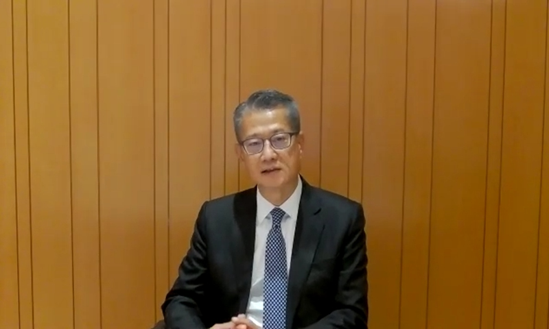 globaltimes.cn - New law helps HK's future with economic recovery eyed in Q4: financial chief
