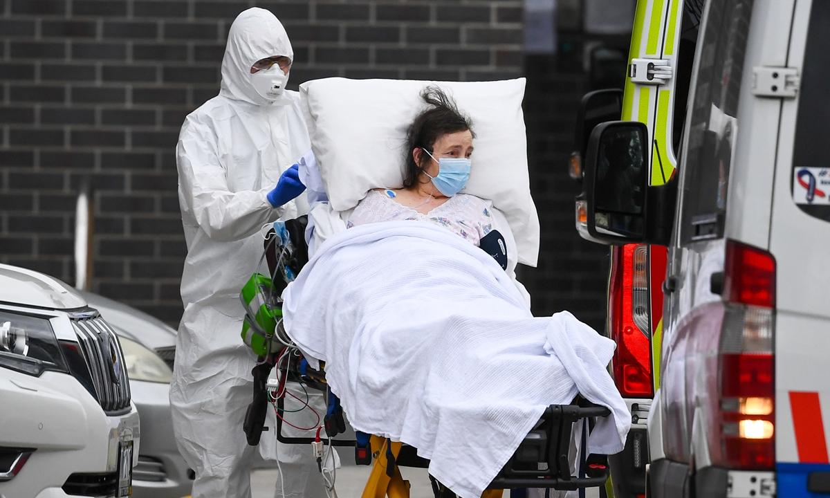 Australia S Victoria To Toughen Novel Coronavirus Lockdown Media Global Times
