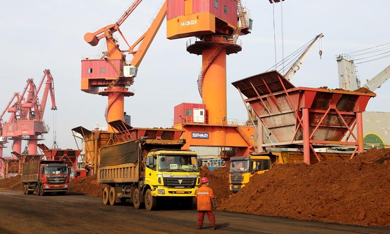 iron ore Photo:VCG