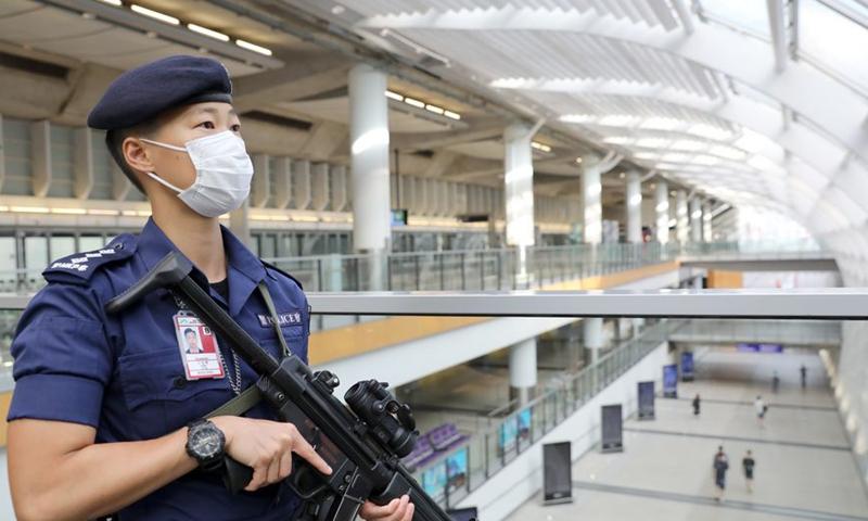 Hong Kong Police File photo:Xinhua