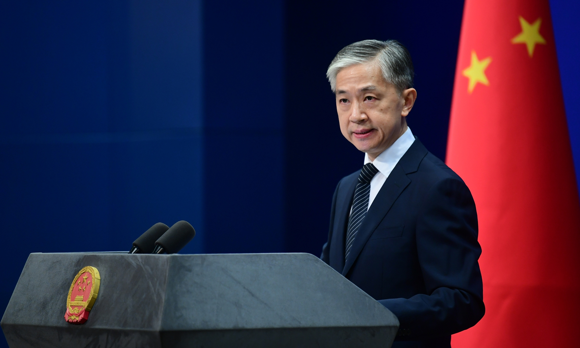 Wang Wenbin, spokesperson of China's Foreign Ministry Photo: cnsphoto