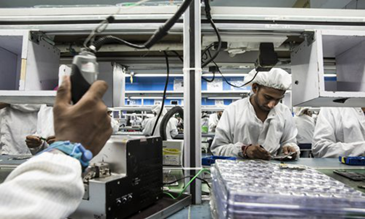 Haste won't make India a manufacturing power - Global Times