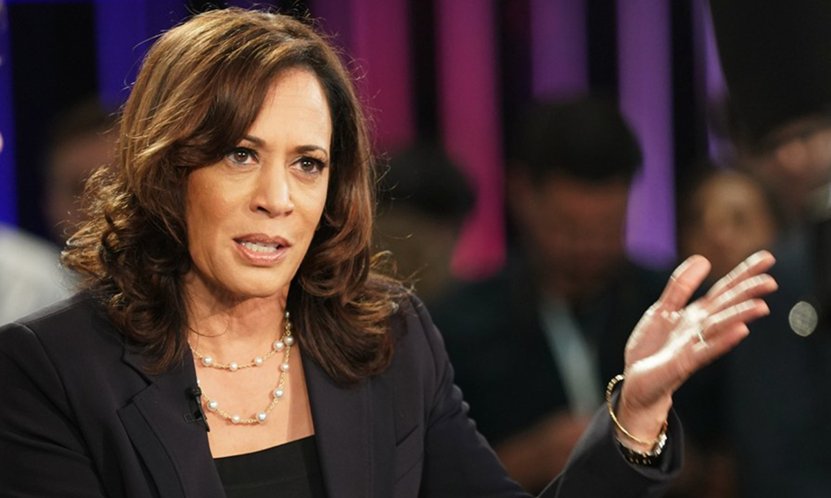 Kamala Harris Pick Likely To Deepen Us Racial Polarization Toward Election Global Times