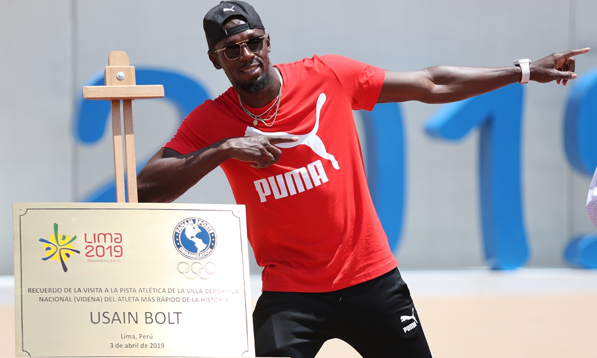 Coronavirus Catches Up With Usain Bolt World S Fastest Man Global Times