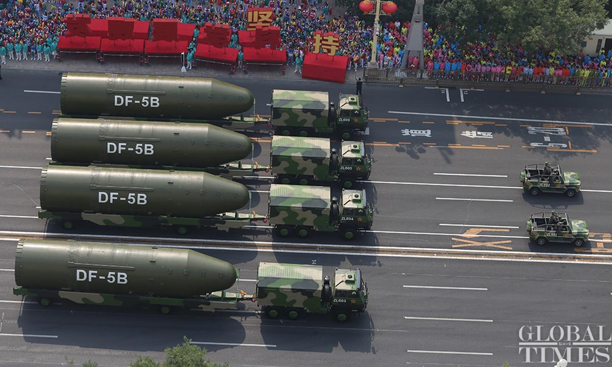 US drängen China zur Stärkung der nuklearen Abschreckung: Leitartikel der Global Times