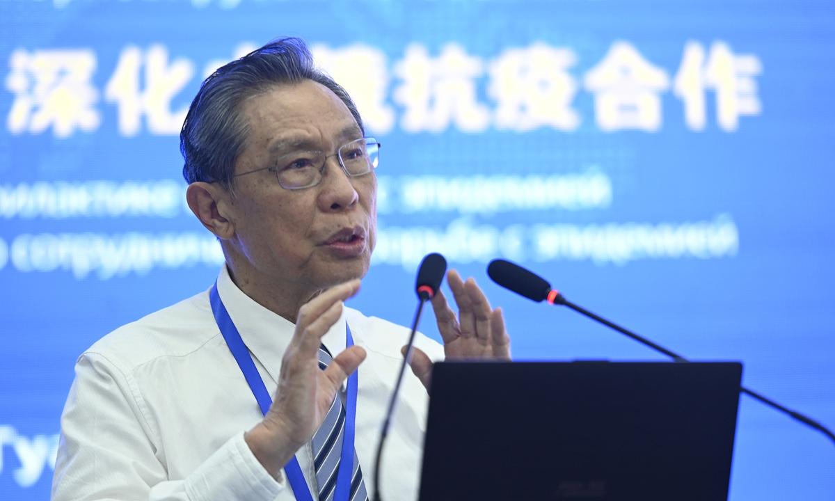 Zhong Nanshan Photo:VCG
