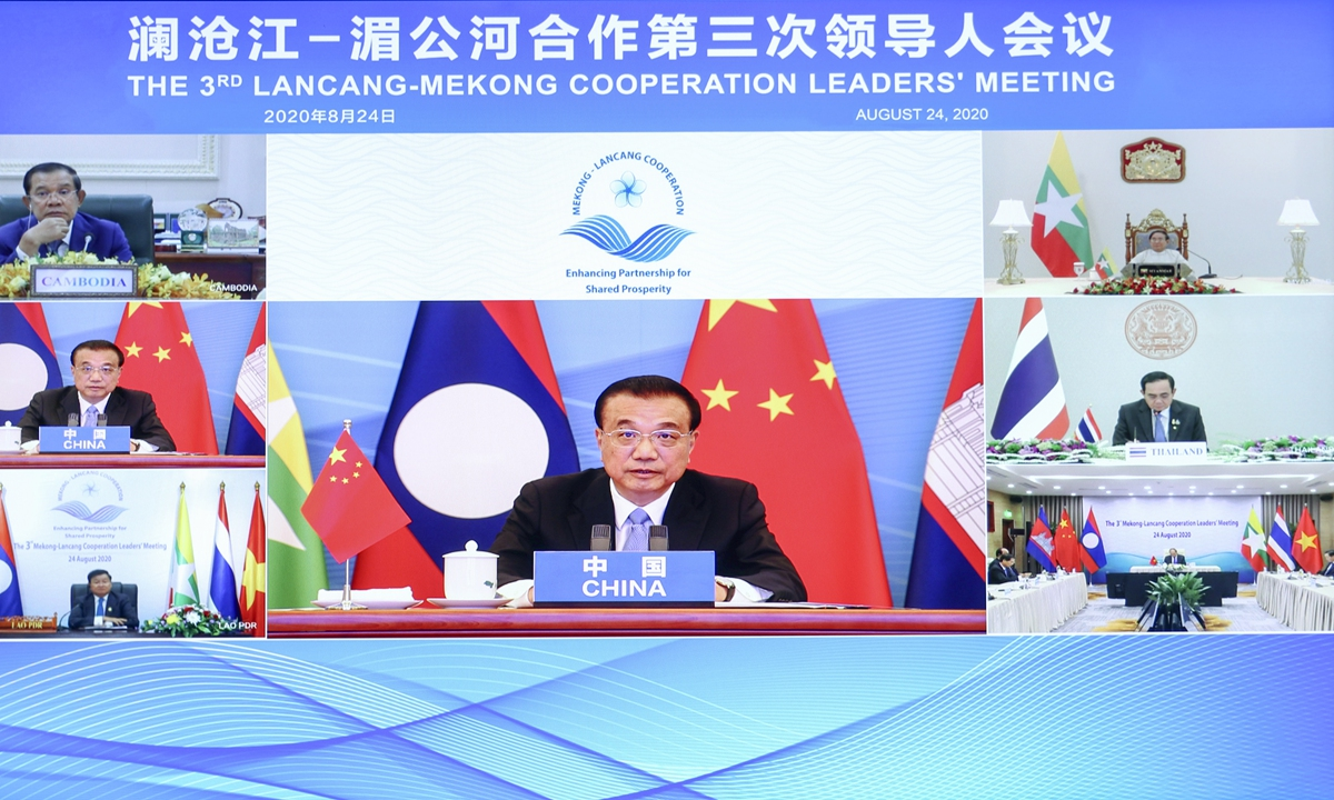 Mekong countries welcome water sharing, construction assistance under LMC mechanism - Global Times