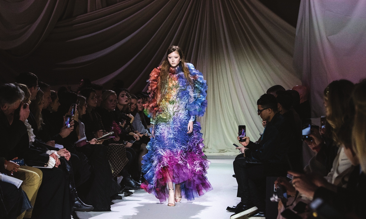 London Fashion Week Opens With Online Focus Global Times